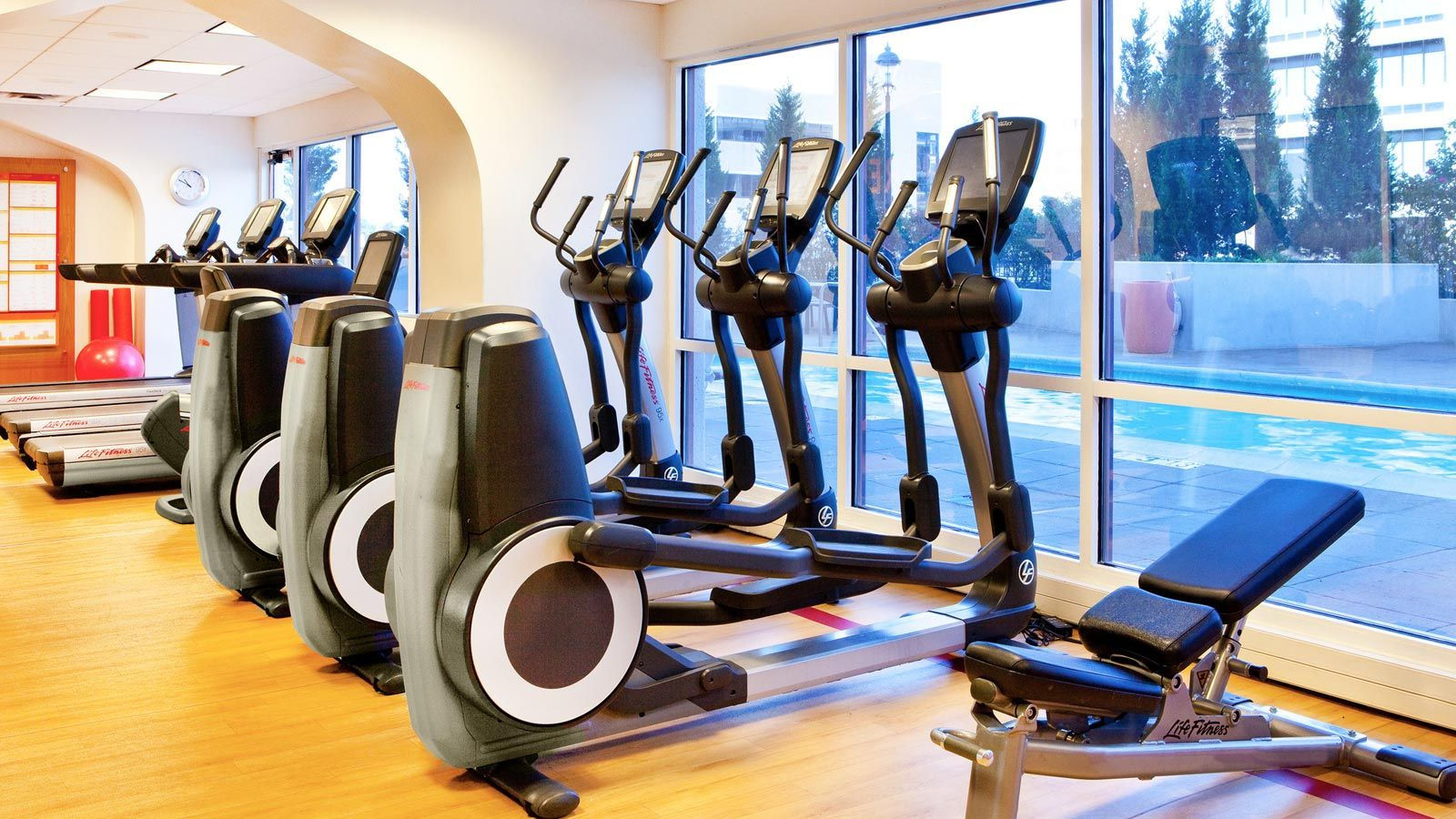 fitness center sheraton